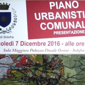 PALAZZO ORSINI 7 DICEMBRE PRESENTAZIONE DEL PUC